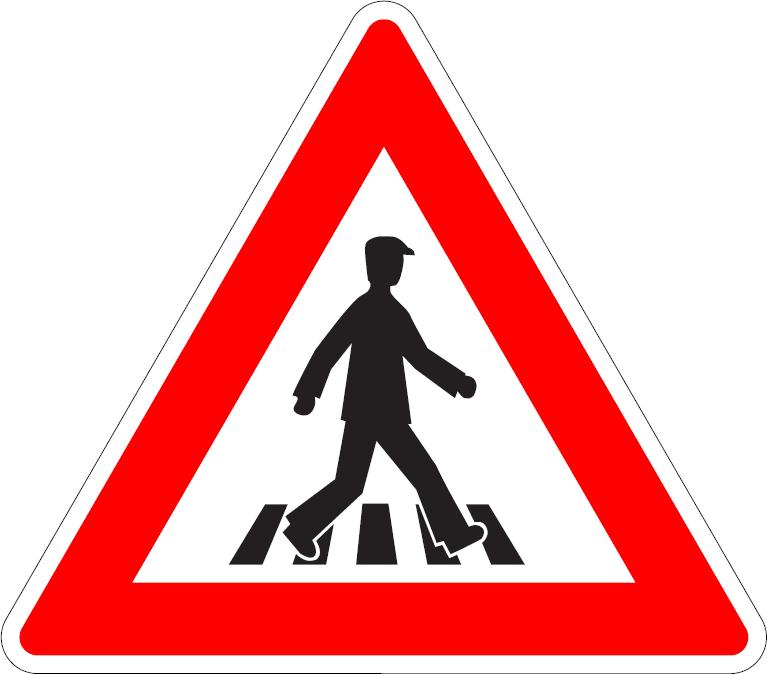 Priechod pre chodcov (vpravo)
