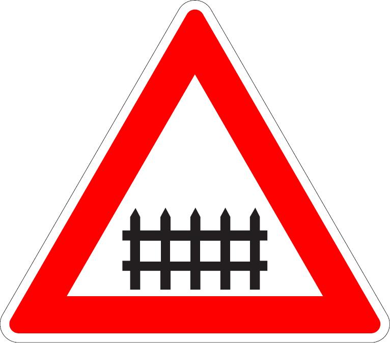 Železničné priecestie so závorami