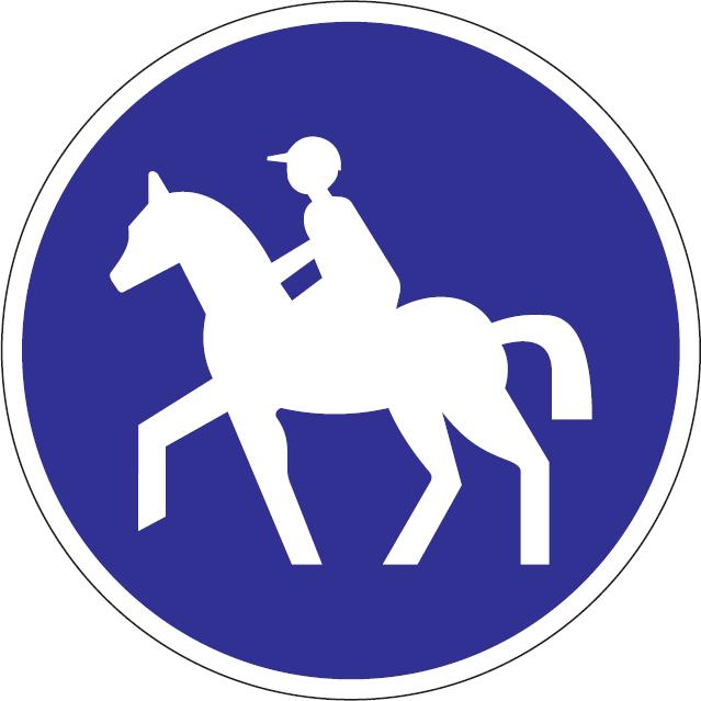 Cestička pre jazdcov na koňoch