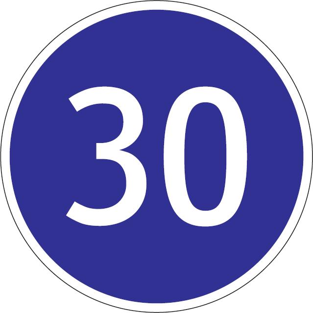 Najnižšia povolená rýchlosť (vzor)