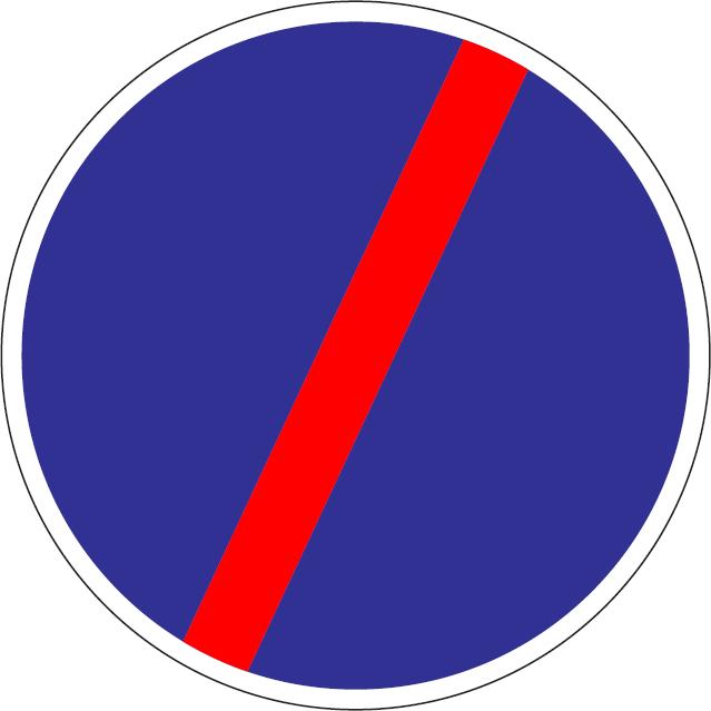 Koniec príkazu (vzor)