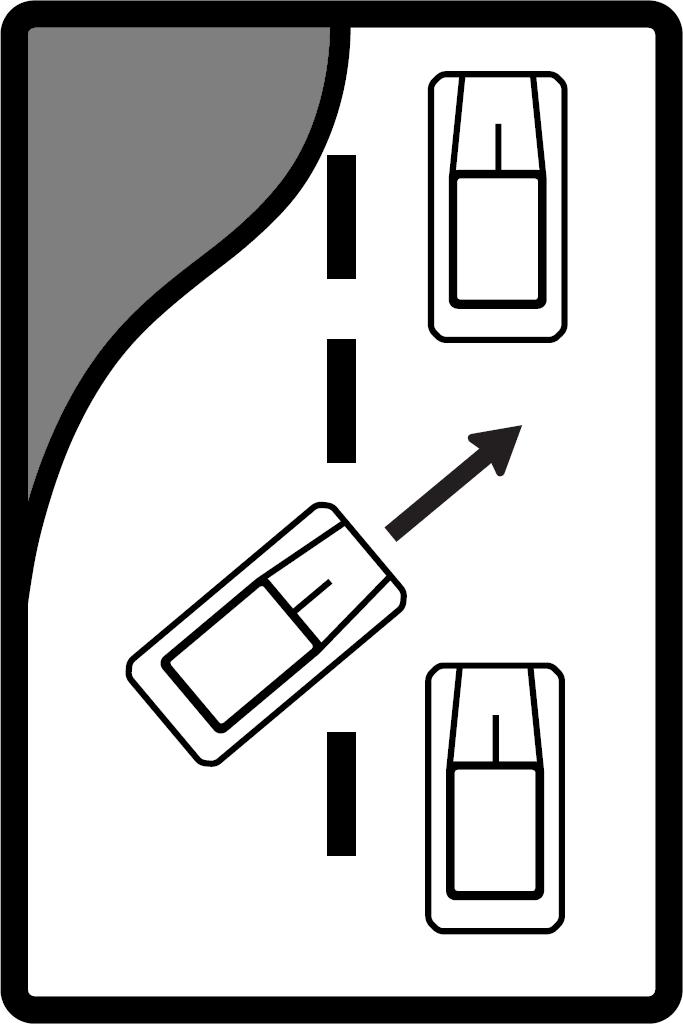 Striedavé radenie (ľavé)