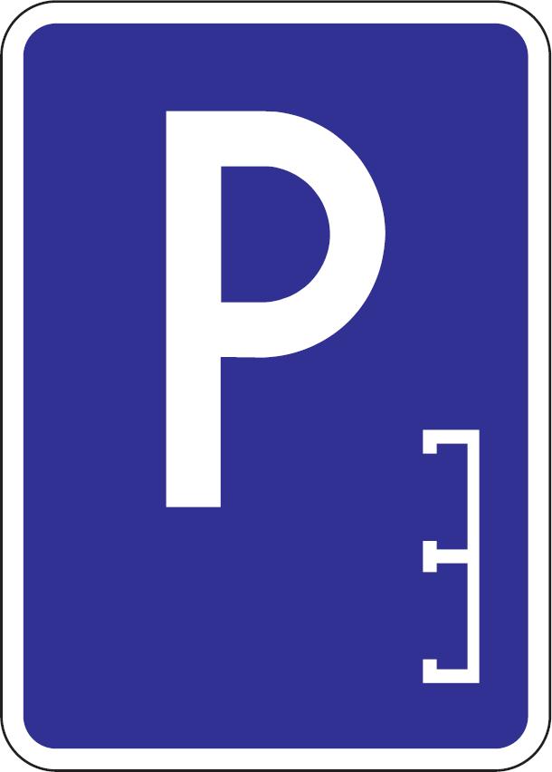 Parkovisko, parkovacie miesta s pozdĺžnym státím
