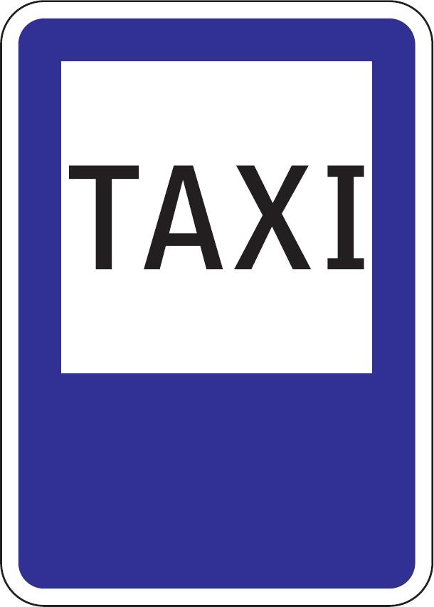 Stanovisko TAXI (vzor)