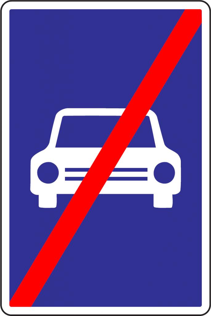 Koniec rýchlostnej cesty