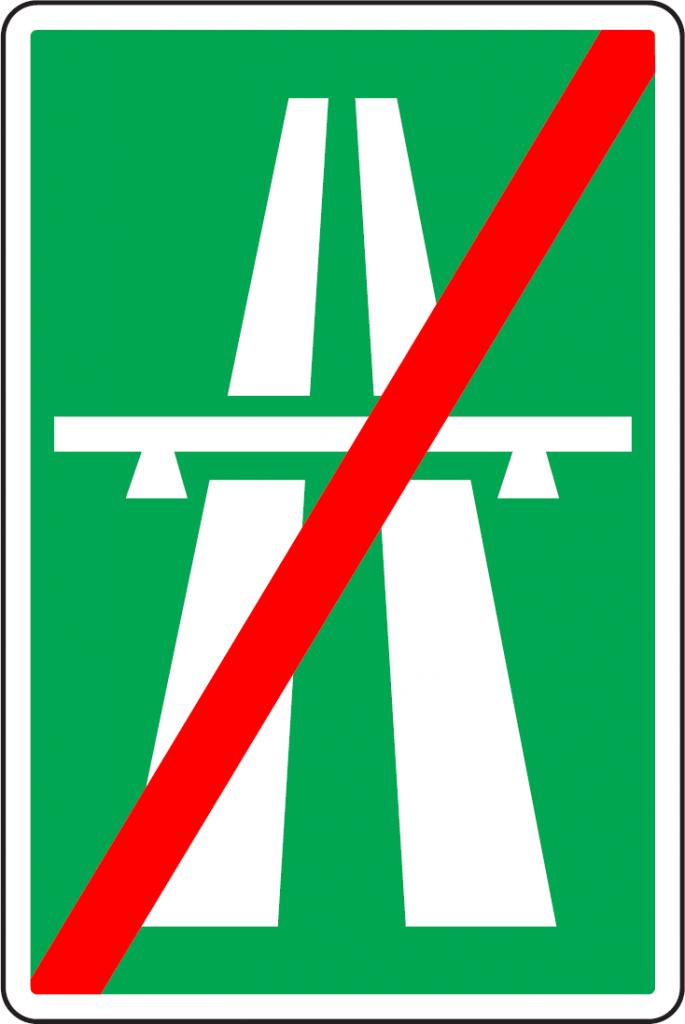 Koniec diaľnice