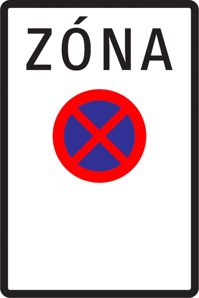 Zóna s dopravným obmedzením (vzor)
