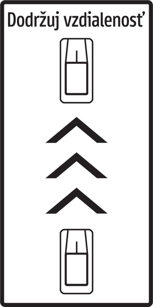 Bezpečná vzdialenosť (vzor)