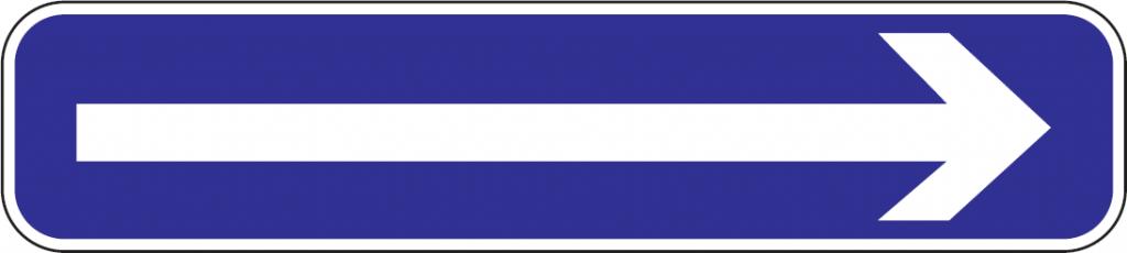 Jednosmerná premávka (vľavo)