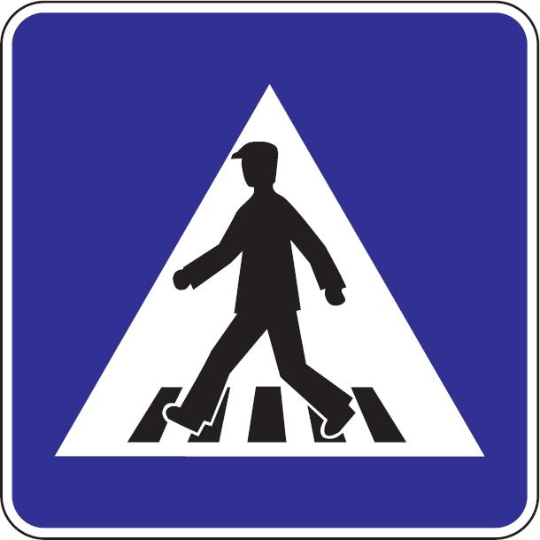Priechod pre chodcov (vzor)