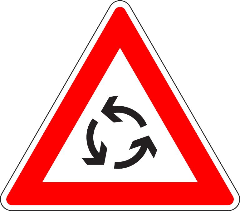 Križovatka s kruhovým objazdom